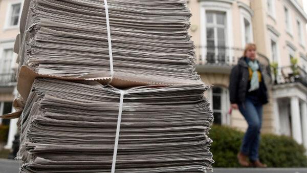 Covid-19: contacto con los periódicos es seguro